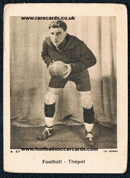 1934 Alexis Thépot World Cup '34 card